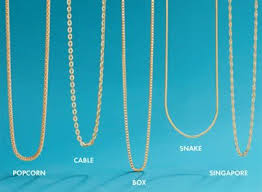 necklace chains styles images Types of gold necklace chains traumspuren xydX5