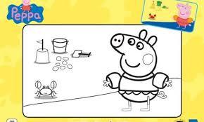 peppa pig free activity dot dot u0026 colouring sheet printables