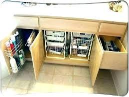 under bathroom sink storage ideas medicine cabinet storage bathroom cabinet organization ideas