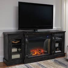 mallacar tv stand with fireplace the furniture mart