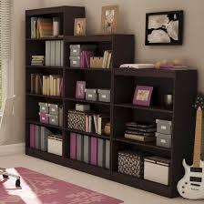 Sauder 3 Shelf Bookcase Cherry 3 Shelf Bookcase Chocolate South Shore Target