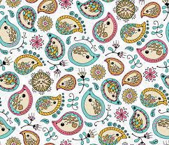 hedgehog wrapping paper hedgehog paisley colors white fabric valdez spoonflower