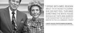 Nancy Reagan Nancy Reagan Turned Down Rock Hudson U0027s Plea For Help Nine Weeks