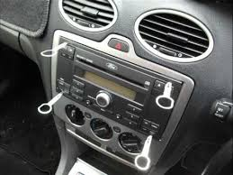 2007 ford focus radio how to remove the original and install a aftermarket car