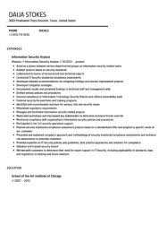 It Security Resume Examples by Download Information Security Resume Haadyaooverbayresort Com