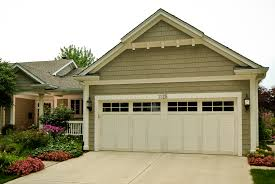 patio garage doors door white haas garage doors with versetta stone and pea gravel patio