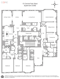 Park Central Floor Plan Here Now Nyc U0027s Second 95 Million Listing Of The Week Curbed Ny