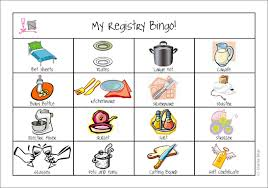 registry for housewarming registry bingo
