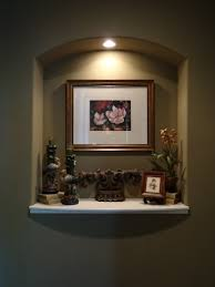 THIS MAKES AN NICE IDEA FOR A WALL NICHE Ideas For The House - Wall niches designs