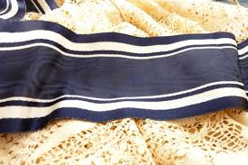silk grosgrain ribbon vintage 1900 s silk moire grosgrain ribbon trim antique sewing
