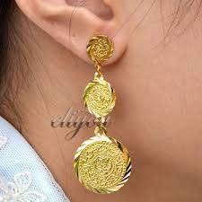 new fashion gold earrings cheap gold jewellery earrings find gold jewellery earrings deals on