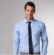 blue gingham shirt navy tie grey pants love groomsmen love