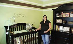 green and brown nursery my desired colors if i get a chance to