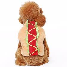 Hotdog Halloween Costume Dog Costumes