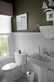 bathroom with wainscoting ideas bathroom wood wainscoting caruba info