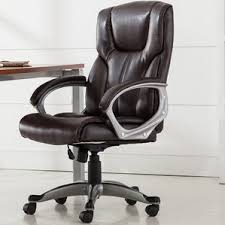 leather office chairs you u0027ll love wayfair