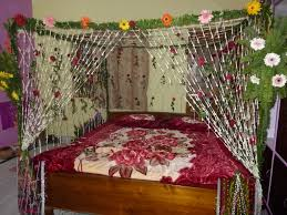 indian wedding bed decoration with flowers awesome indian wedding
