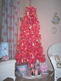 and beautiful pink tree decor