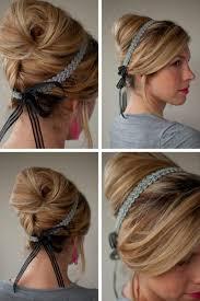 Frisuren Anleitung Mit Haarband by 24 Herrliche Ideen Für Effektvolle Frisuren Mit Haarband