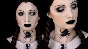 Gothic Halloween Makeup by