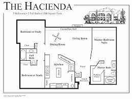 search floor plans home plans with guest house fresh small hacienda floor plans