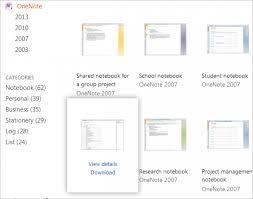 onenote templates download template design