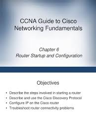 ccna guide to cisco networking fundamentals booting router
