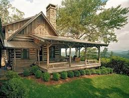 impressive cabin house plans with porches using casement glass