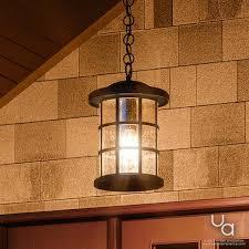 craftsman outdoor pendant light uql1048 craftsman outdoor pendant light 15 5 h x 10 w natural