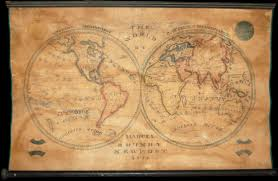 Map Of Newport Ri File 1833 Manuscript Wall Map Of The World On
