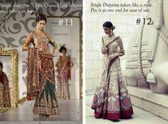 Ways To Drape A Dupatta 30 Dupatta Draping Styles To Drape Your Way To Gorgeousness