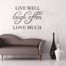 online get cheap happy family quotes aliexpress com alibaba group live well laugh often vinyl wall stickers quote home decor wall decal for home decoration happy family decoration