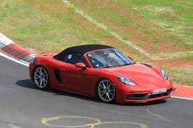 porsche driveway porsche 718 cayman gts and boxster gts due this year with 375bhp