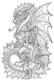 dragon head coloring pages onyx herald lineart by rachaelm5 deviantart hell666 art work