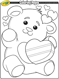 free printable valentine u0027s coloring pages