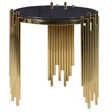 black and gold side table romana black gold side table shropshire design