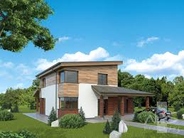 single storey houses with a loft project aleksas nps projects