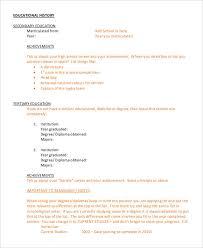 free executive resume templates 34 free word pdf documents