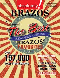 lexus richmond cafe december 2016 absolutely brazos magazine by absolutely brazos