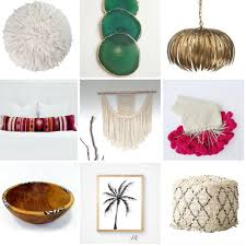 The Home Decor by The Home Decor Wishlist Beachy Boheme