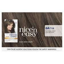 nice n easy permanent color natural light ash brown 114 1