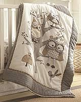 Boy Owl Crib Bedding Sets Levtex Baby Night Owl 5 Piece Crib Bedding Set Owl Pinterest