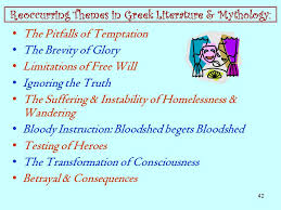 betrayal themes in literature mythology origins meaning relevance today ppt download