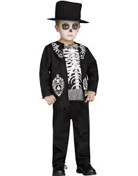 Maternity Skeleton Halloween Costumes by Skeleton King Toddlers Day Of The Dead Halloween Costume U2013 Costume Zoo