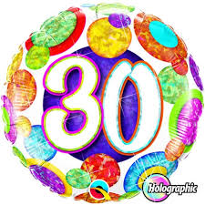 30th birthday balloons delivered 30 th birthday balloons delivered helium filled sparkling 30th
