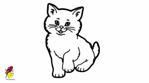 pussycat sweet kitty draw cat