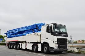 trailer volvo free images technology car machine concrete pump build