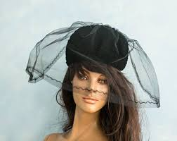 funeral hat etsy
