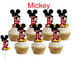 mickey mouse cupcakes mickey mouse cupcake etsy