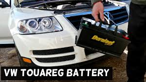 vw touareg battery removal replacement 2002 2003 2004 2005 2006